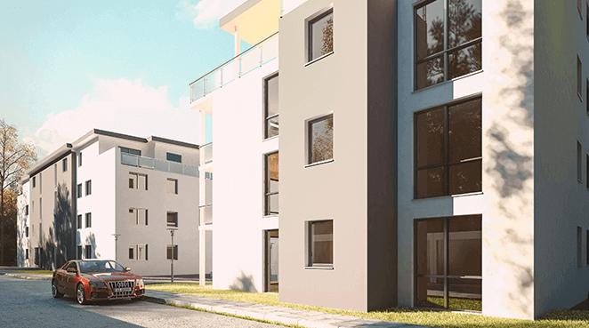 Investieren in Mehrfamilienhäuser, Wohnanlagen, studentisches Wohnen oder Seniorenwohnungen