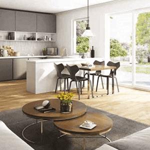 27 komfortable Eigentumswohnungen